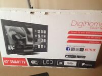 "42""Smart Full HD 1080p LED TV with Built-in Freeview HD"