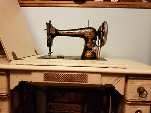 1924 Singer Treadle Sewing Machine - definitely NOT haunted.