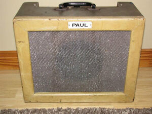 Vintage Paul Tube Amp For Trade