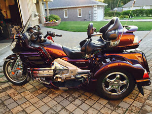 2007 Honda Goldwing GL1800 Trike priced to sell at 29,500.00 OBO