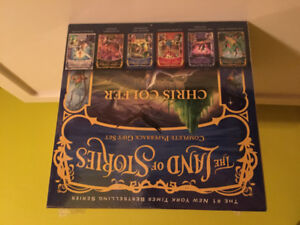 """The Land of Stories "" by Chris Colfer box set."