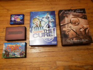 A Bunch of Board Gamess