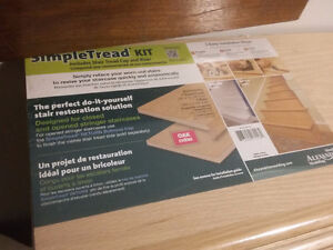 Oak stair tread kit with riser 23 of them