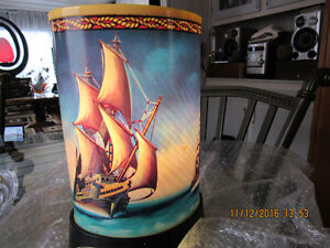 Beautiful Ship Motion Lamp. REDUCED    $125.00 Campbell River Comox Valley Area image 1