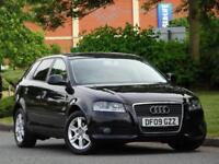 Audi A3 1.6 Sportback 2009 SE +1 LADY OWN +FASH +LEATHER +CAMBELT DONE