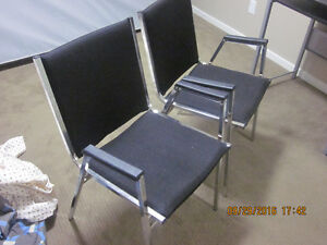 2 Nice black reading or multiple use chairs for sale. Edmonton Edmonton Area image 2