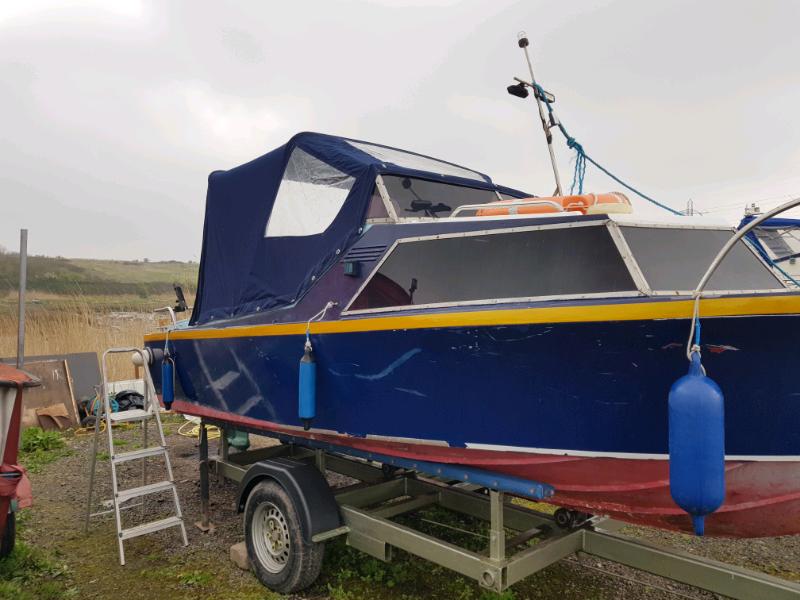Diesel engine 18ft fishing boat | in Ely, Cardiff | Gumtree