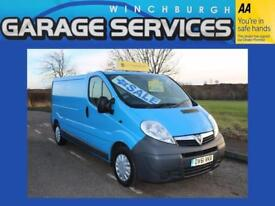 VAUXHALL VIVARO LWB GREAT CONDITION WOOD LINED