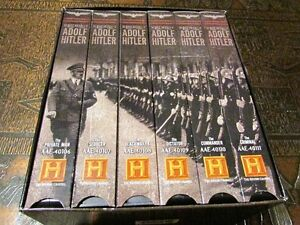 The Rise and Fall of Adolf Hitler VHS 6 Tape Set History Channel