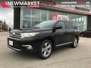 2013 Toyota Highlander 4DR 4WD  SPORT PACKAGE, LEATHER, SUNROOF