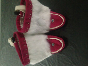 Youth moosehide mukluks