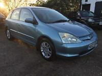 2003 Honda Civic 1.6i VTEC auto Imagine Low Miles 4dr Petrol