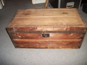 Vintage Solid Wood Chest