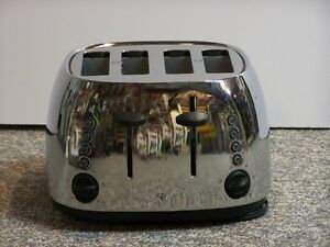 4 slice toaster stainless steel PC brand