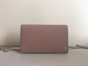 Gucci Betty Leather Chain Wallet