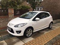 White Mazda 2 Sport, 1.5ltr, 3dr, 67k miles