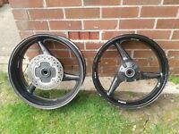 Honda cbr954 fireblade wheels
