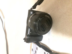 Sony -a5000 camera with interchangeable lens