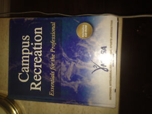CAMPUS RECREATION  - Essentials for the Professional with CD