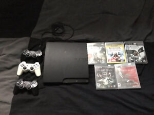 Console Playstation PS3 Slim 160GB + 3 Manettes + 25 Jeux Neuf