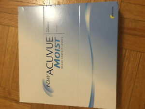 Acuvue Moist 1-Day 90 Daily Contact Lenses in -4.00