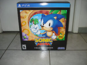 BRAND NEW Sonic Mania (PS4) Collector's Edition!