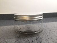 BRAND NEW, JOB LOT! High gloss Pots/jars/containers ! 650ml & 300ml
