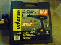 Wagner Cordless 18.0  volt drill
