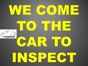 Protect your investment, dont end up with a lemon. Car Inspected