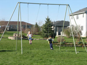Commercial swing set - 12 ft high
