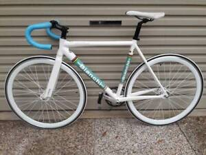 Bianchi Pista Sei Giomi Track Road Bike Carbon Fork Fixie 54 cm