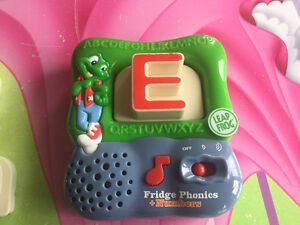 Leapfrog fridge phonics magnetic letters with numbers