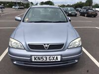 Vauxhall Astra 1.6 2003 low millage 72K FSH 1 year MOT drives excellent