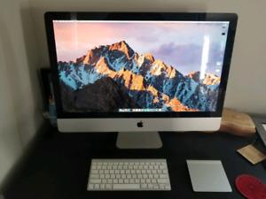 """27"""" iMac mid-2010  - specs in photo (1TB HD)"""