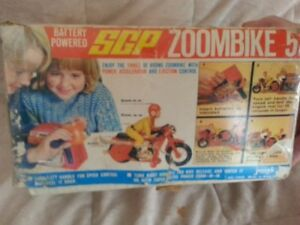 1970s Battery operated,Zoom bike,SGP,By Joseph,CIB,80S