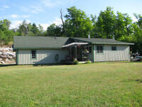 Reduced Price: House & 4 acres(now listed with Real Estate)