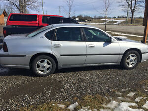 2004 Chevrolet Impala LS Sedan 132000 KMS!