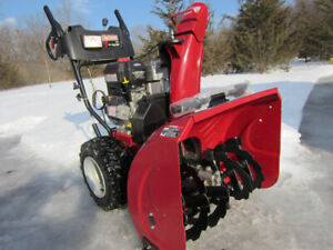 "SNOWBLOWER CRAFTSMAN 27""-10HP BRIGGS  ENGINE-Like NEW!"