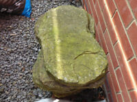 12x Weathered Natural Stone, Stepping Stones/Paving. Random Cut