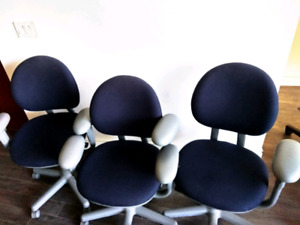 $45 each office desk chair very sturdy