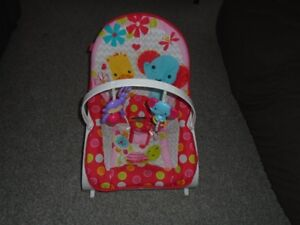 Fisher Price vibrating chair.