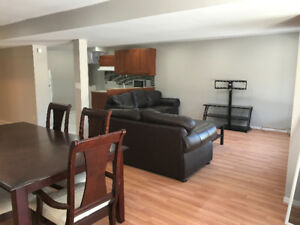 2 bedrooms walk out basement for