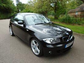 BMW 116 2.0 116d M SPORT (black) 2011