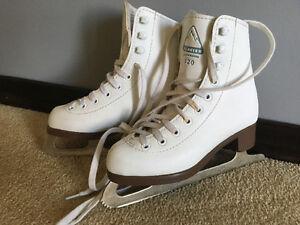 Girls size 12 figure skates