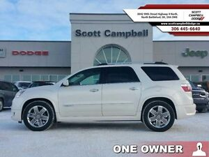 2012 GMC Acadia Denali   - one owner - local - trade-in - sk tax
