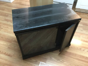 Small TV entertainment unit