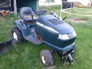 Lawn tractor package