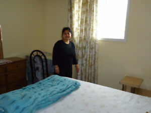 For female:1 furnished bedroom for rent of $450/month from May