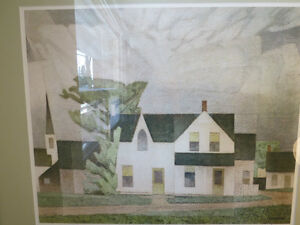 A LTD EDITION PRINT BY A. J. CASSON GROUP OF SEVEN VILLAGE HOUSE Kitchener / Waterloo Kitchener Area image 1