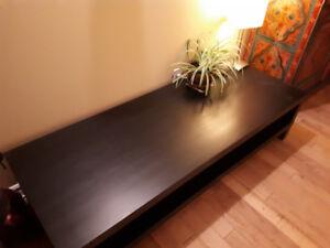 Meuble de télévision ou table à café de salon